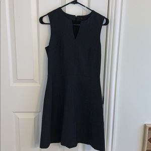 Theory dress black light wool size 2